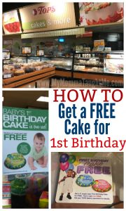 How To Get A Free Cake For 1st Birthday