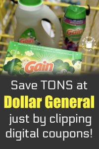 Save Tons At Dollar General Just By Clipping Digital Coupons