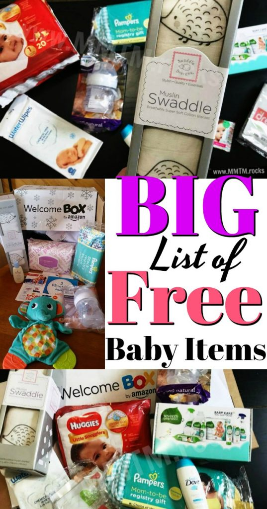 TONS Of FREE Baby Samples, Coupons, And More